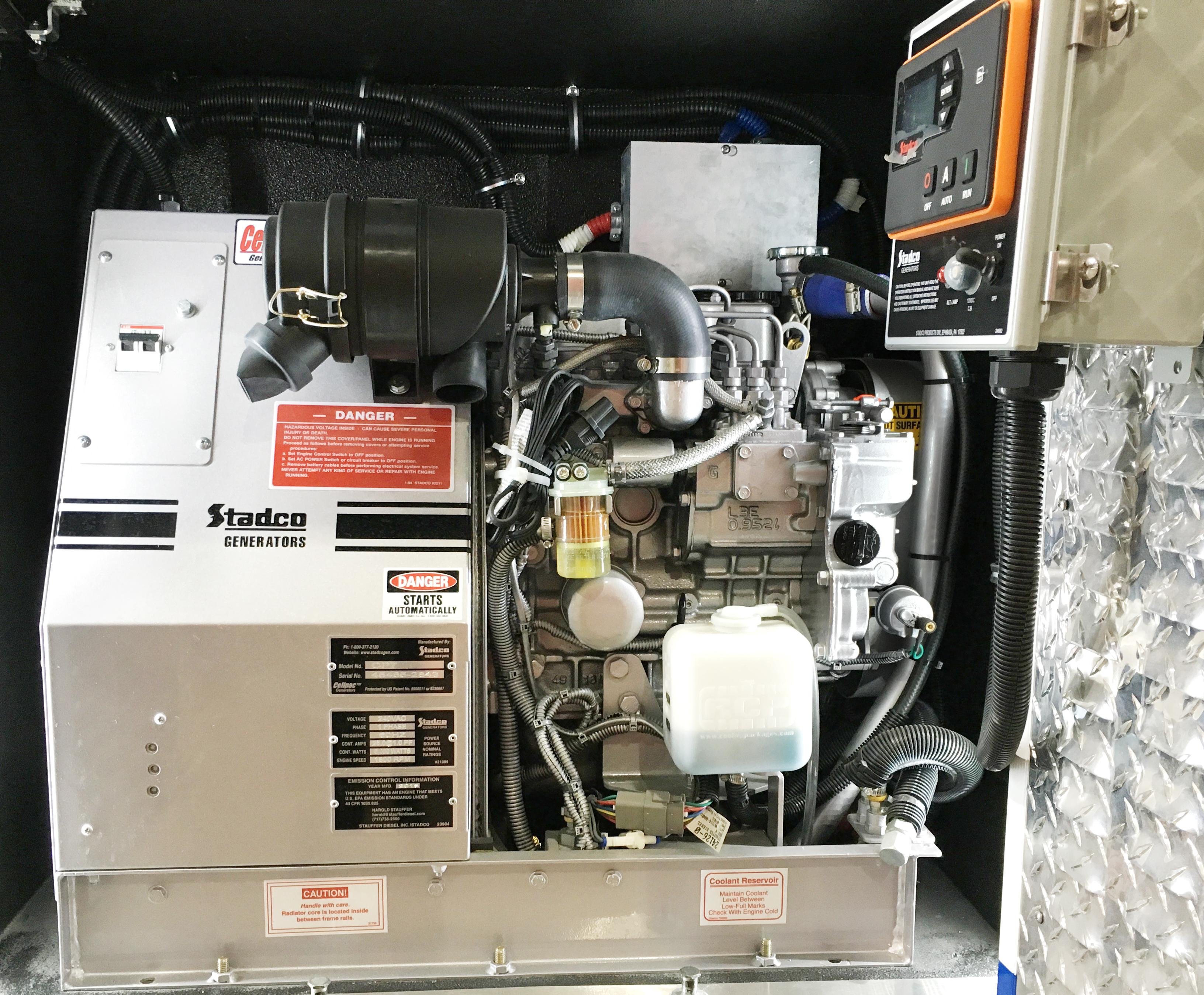 Compact Compartment Generators - Stadco Diesel Generators