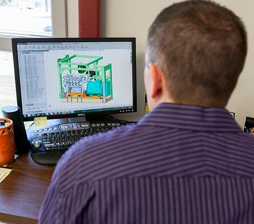 STADCO GENERATORS - CAD Design, 3D Modeling