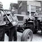 Competing in tractor pulling took the team from Stauffer Diesel all over the east coast and spread the word of the powerful engines and tractors they were selling. This photo from the Lancaster New Era is from 1977 when they won at  Bowling Green.