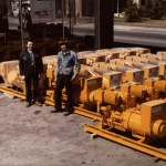 In 1983, these generators were built to help keep rail cars refrigerated for the Fruit Growers Express Co.
