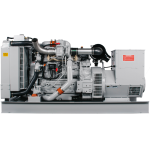 CD65 - 65 kW Compact Diesel Genset - exhaust side
