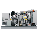 CD65 - 65 kW Compact Diesel Generator - service side view